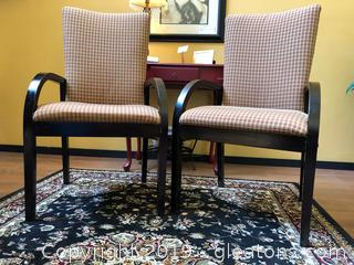 Pair Accent Chairs B