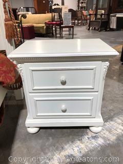 Lexington Side Table with Pretty Details