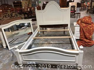 Lexington FULL Size Bed Distressed Detail