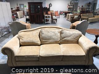 Wesley Hall Custom Made Sofa