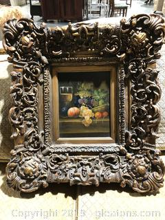 (B) Beautiful Framed Oil Painting by Henri