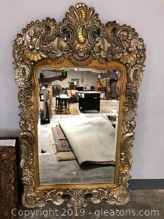 Elegant Carved Very Large Wall Mirror