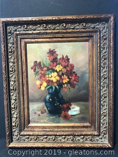 Framed and Signed Oil Painting