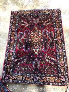 Sarouk Oriental Mat