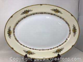 Bangor Pattern Oval Serving Platter