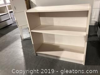 Small, 2 Shelf Bookcase