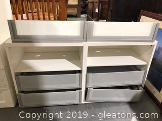 Ikea Storage Unit with 2 Extra Drawers