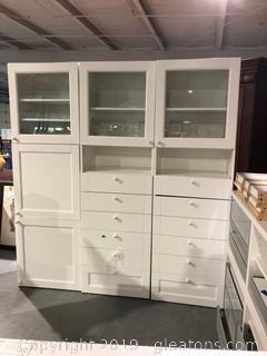 Large Ikea Kitchen and Pantry Unit