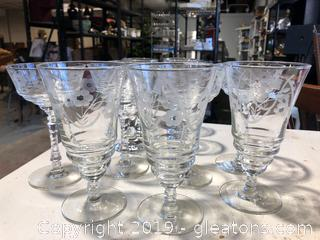 Princess House Tea/Water Glasses