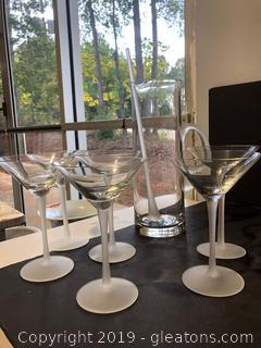 Tiffany & Co. Martini Set