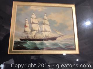 Turbulent Sailing Seascape #2