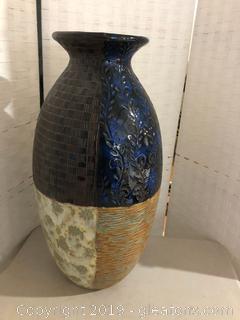 Multi-Colored Ceramic Pottery