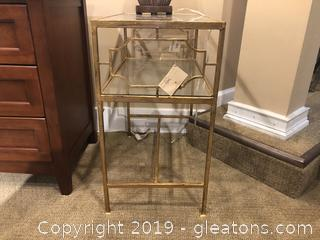Uttermost Gold Side Table
