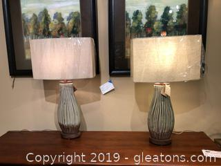 Pair Uttermost Lamps