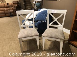 Pair of Dining Room Chairs by Uttermost Company