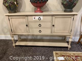 Natural Wood Sideboard or Buffet