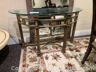Half Moon Side/Hall Table