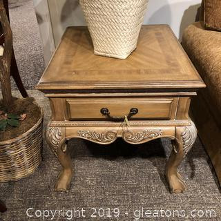 """Camden Hall"" End Table by Lexington"