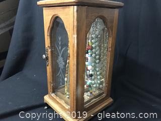 Jewelry Box with costume jewelry