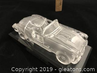 Glass Desk Top 1959 Corvette