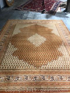 Antique Wool Hand Knotted Rug 99 x 123