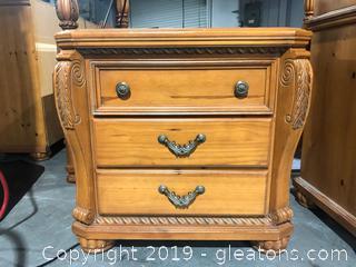 Beautiful Carved Regency Park Side Table