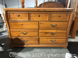 Dresser and Mirror by Grand Regency