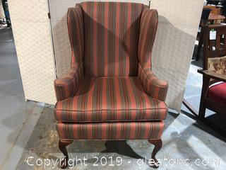 Queen Anne Style Accent Chair