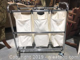 Canvas Laundry Organizer