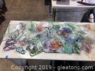 Lot of Murano Glass Jewelry