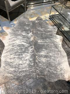 Modern Faux Fur Rug A