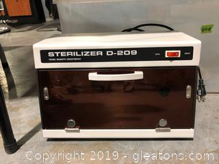 Table Top Sterilizer E