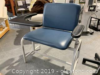 Phlebotomy Chair Winco Adjustable Therapy Chair