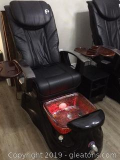 Top of the Line Pedicure Spa Chair B
