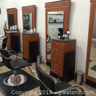 Vecco Brand Hair Styling Station E