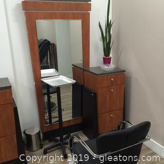 Vecco Brand Hair Styling Station D