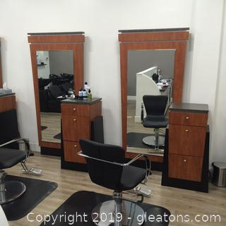 Vecco Brand Hair Styling Station A