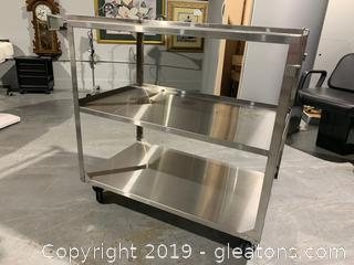 Medical Grade Stainless Rolling Cart A