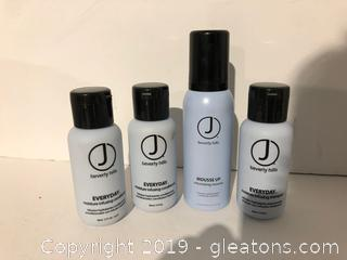 J Beverly Hills Pro Hair Care Products Lot V