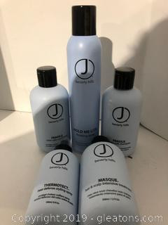 J Beverly Hills Pro Hair Products Lot H