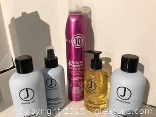 J Beverly Hills Pro Hair Products Lot C
