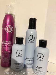 J Beverly Hills Pro Hair Products Lot F