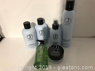 J Beverly Hills Pro Hair Products Lot L