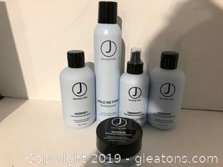 J Beverly Hills Pro Hair Products Lot M