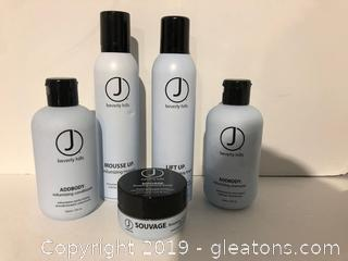 J Beverly Hills Pro Hair Products Lot N