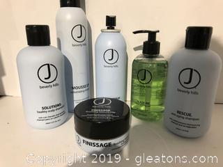 J Beverly Hills Pro Hair Products Lot P