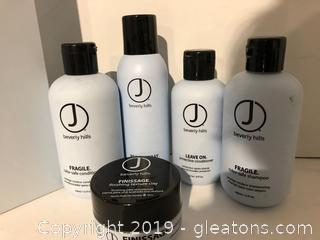 J Beverly Hills Pro Hair Products Lot Q