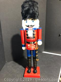 Tall Wooden Nutcracker