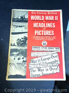 Old World War II Magazine