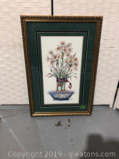 Framed Frankie Buckley Floral B